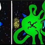 Vesmírna chobotnica - comic strip