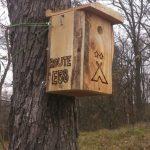 Vtáčia búdka č.1 pre Camp Košice Route E58