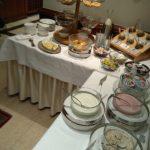 Sandebeck Germanenhof - raňajky sladká časť