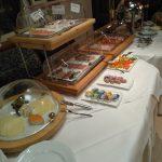 Sandebeck Germanenhof - raňajky slaná časť
