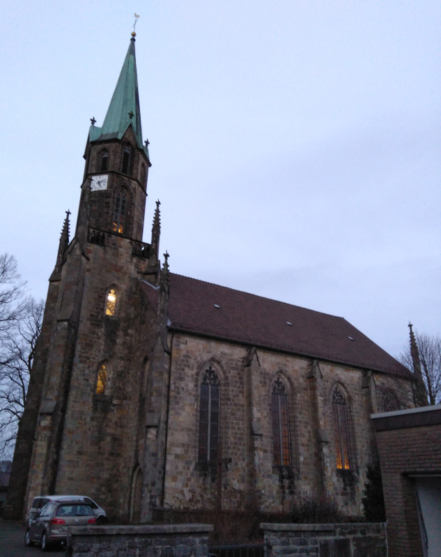Sandebeck kostol